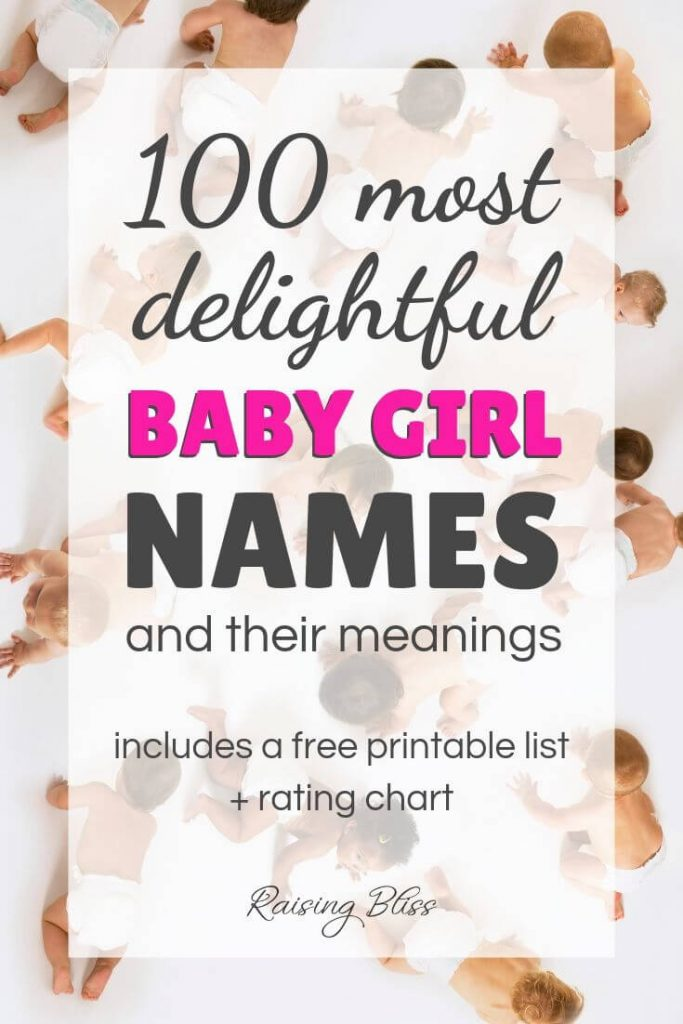 Lots of babies o the floor 100 most delightful baby girl names and their meanings by Raising Bliss