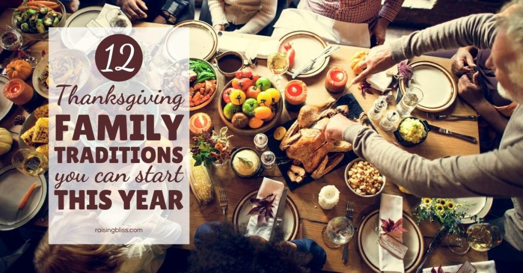 turkey on the table 12 Thanksgiving Family traditions you can start this year