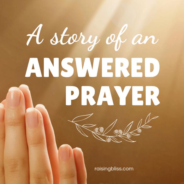 A Story of an Answered Prayer