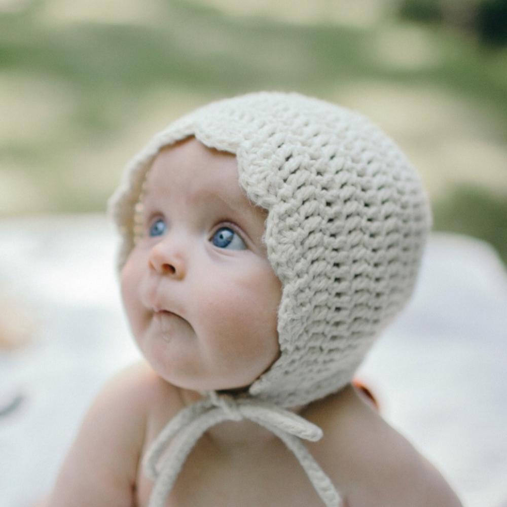 Cream Ria Bonnet by Meadoria