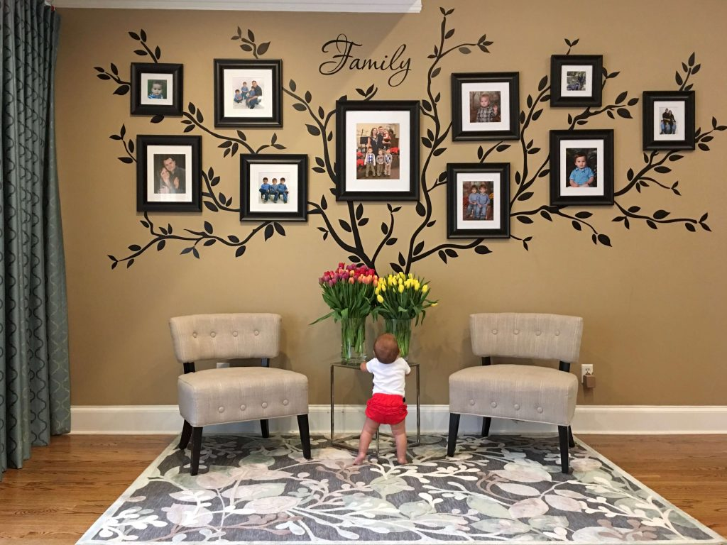family tree wall mural - How to make a family tree wall in 5 easy steps by raising bliss