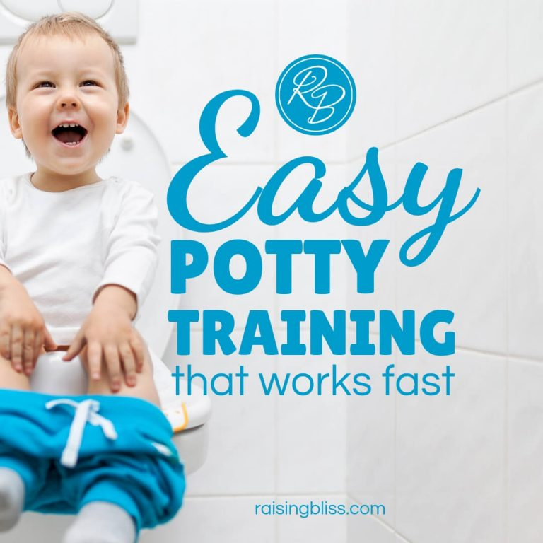 Easy Potty Training That Works Fast