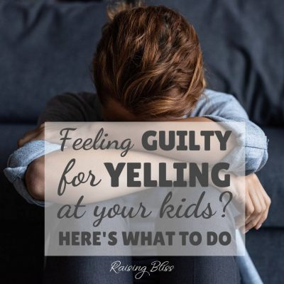 Woman Feeling guilty for yelling at her kids here is what you can do