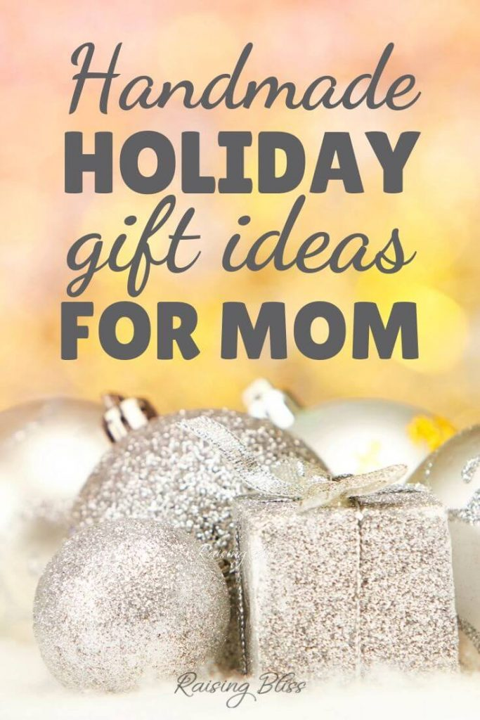 Silver Christmas Handmade Holiday Gift Guide for Mom by Raising Bliss