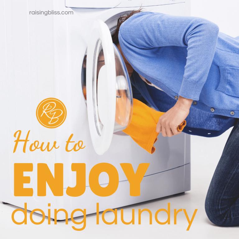 How to Enjoy Doing Laundry