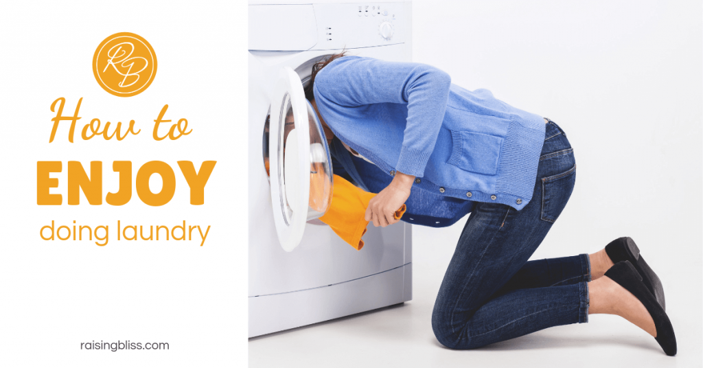 How to Enjoy Doing Laundry