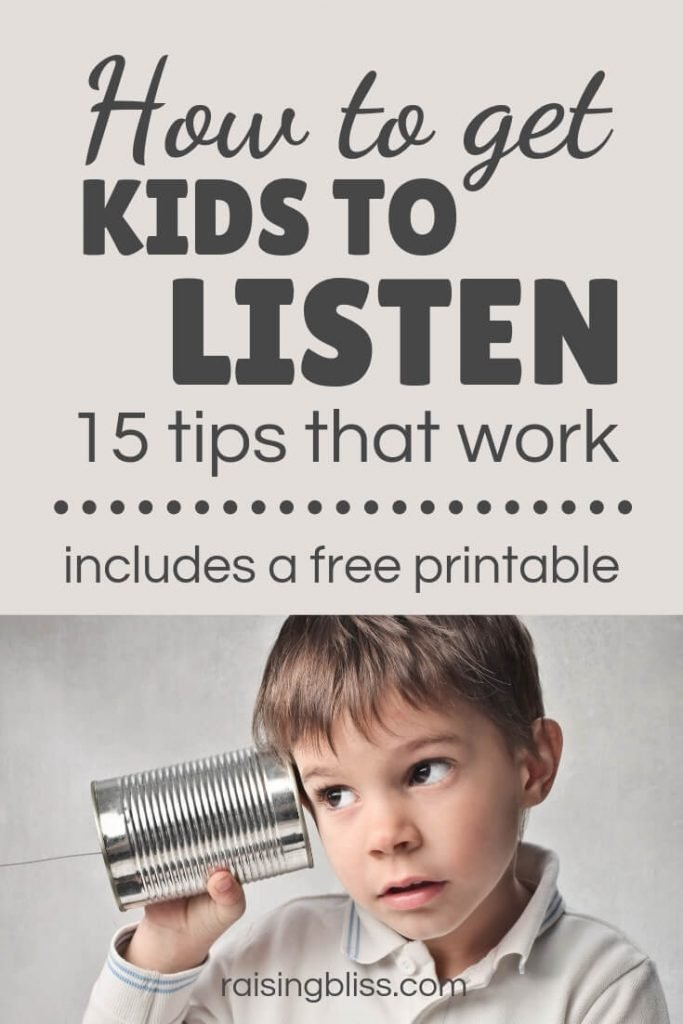 Little boy listening How to get kids to listen 15 tips that work by raising bliss
