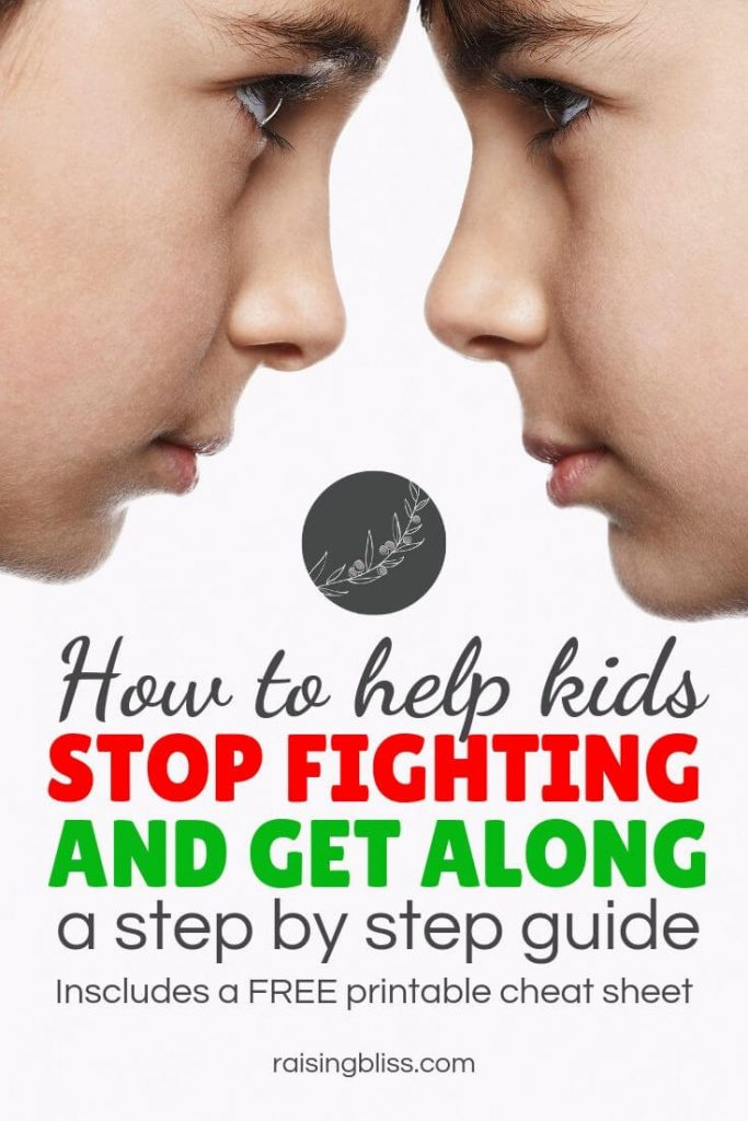 two boys butting heads How to help kids stop fighting and get along by raising bliss