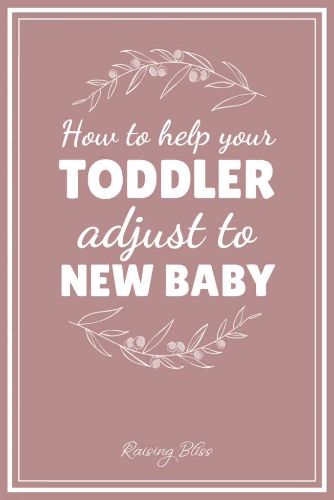 How to help your toddler adjust to new baby by Raising Bliss