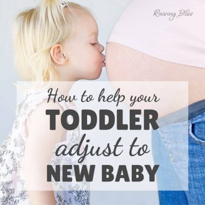 How to Help Your Toddler Adjust to New Baby