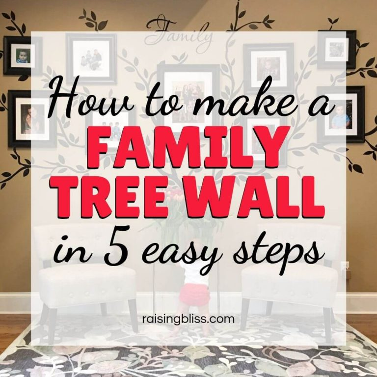 How to Make a Family Tree Wall in 5 Easy Steps