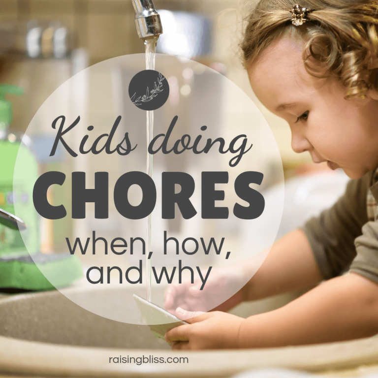 Kids Doing Chores – When, How, and Why