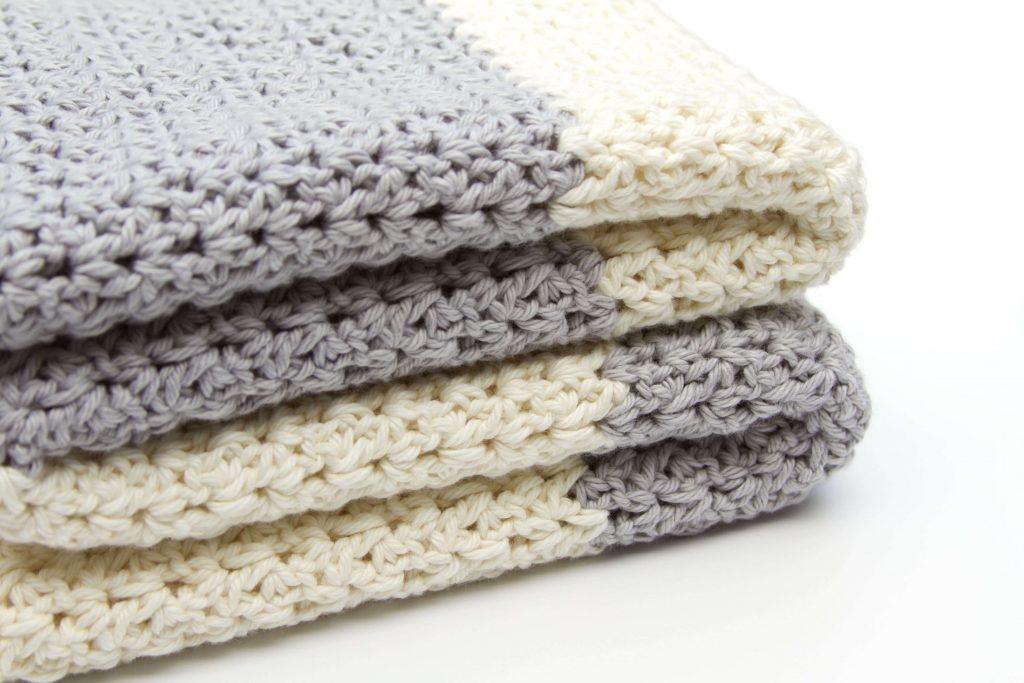 Koda Baby Blanket Cream and Gray