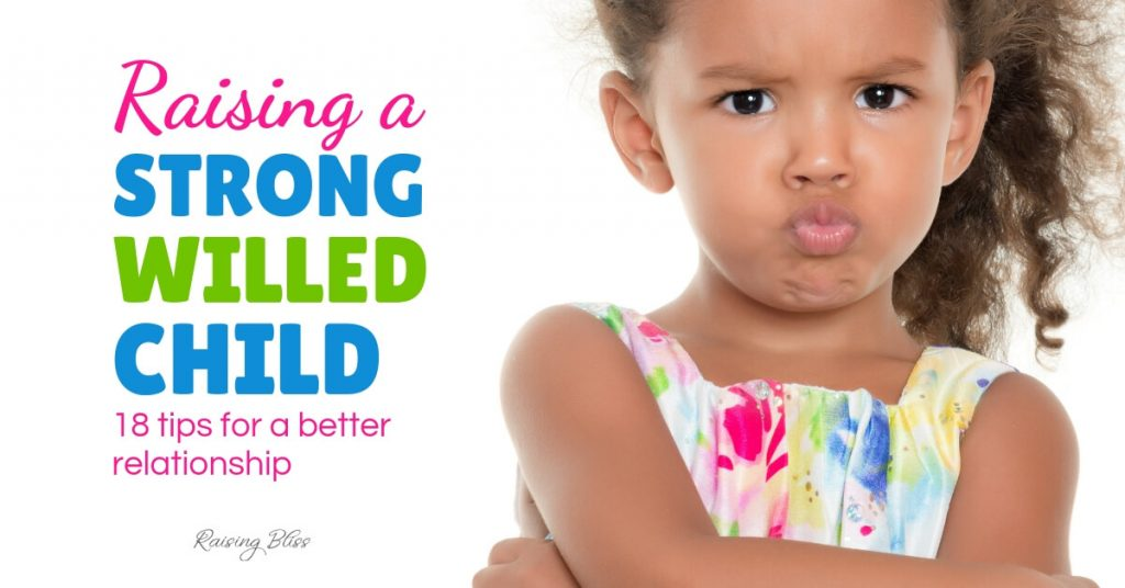 Little girl with crossed arms Raising a strong willed child 18 tips for a better relationship by Raising Bliss