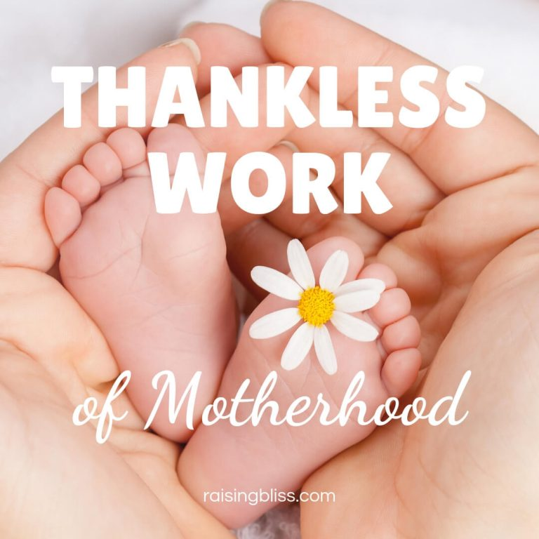 Thankless Work of Motherhood