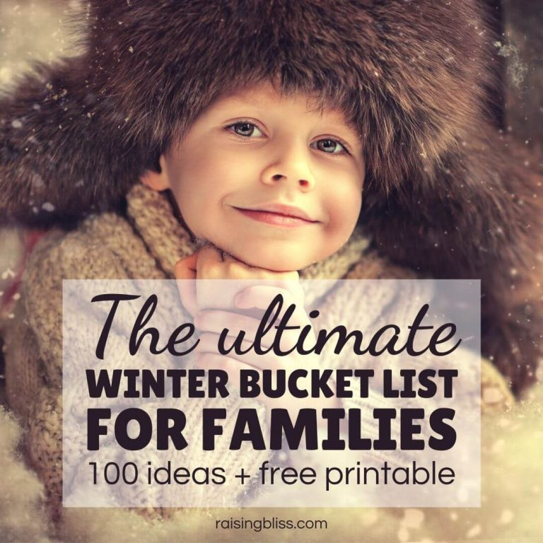 The Ultimate Winter Bucket List For Families – 100 Awesome Ideas