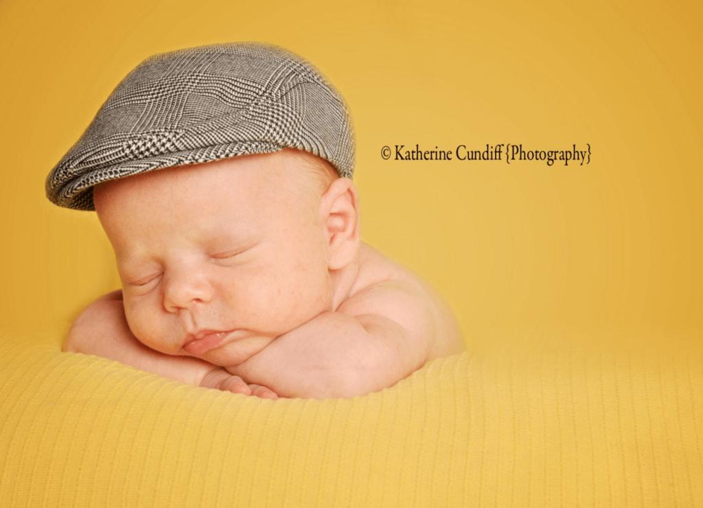 baby newsboy hat
