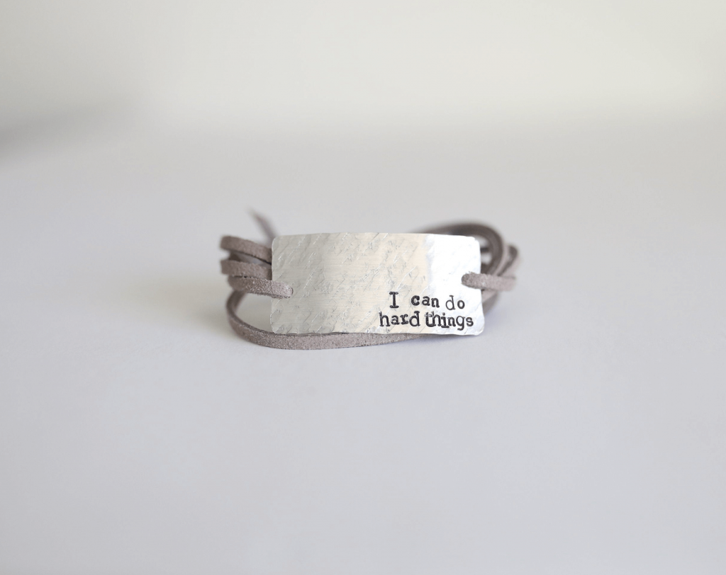 i can do hard things bracelet
