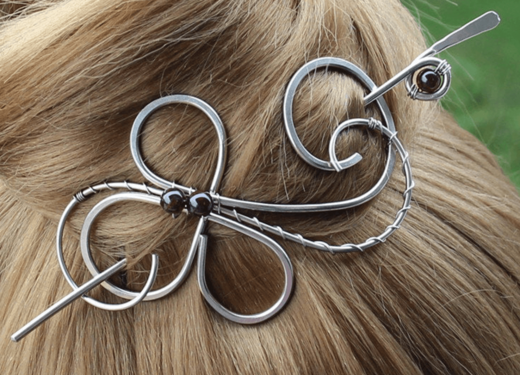 metal hair pin