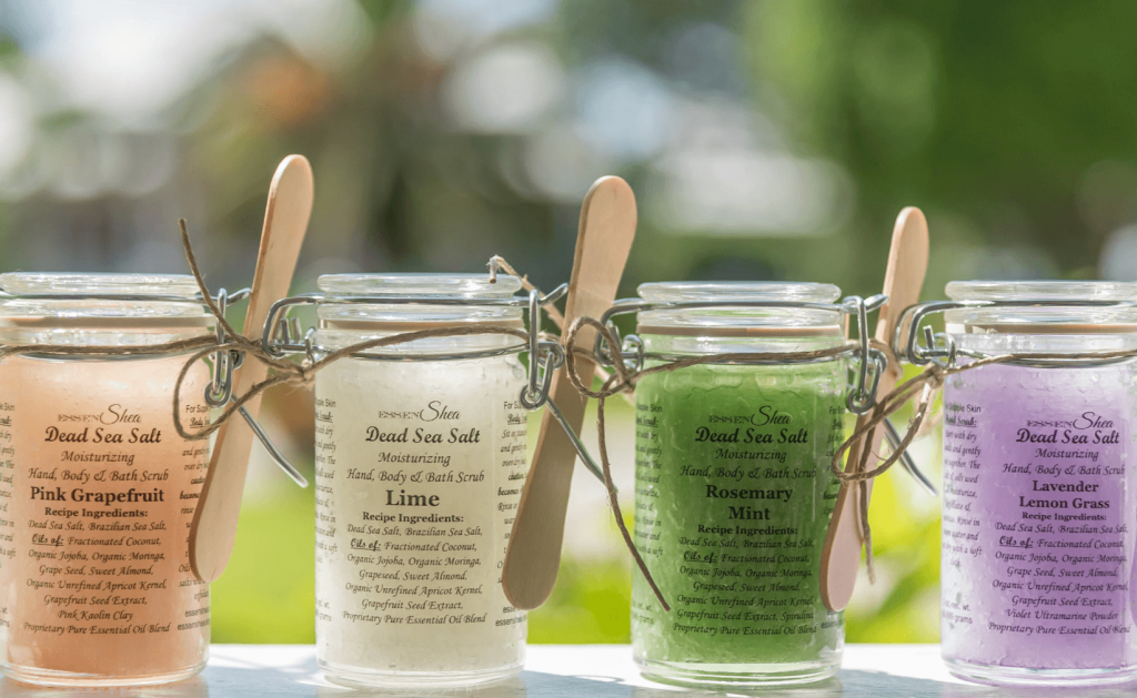 relaxing bath salts for mom