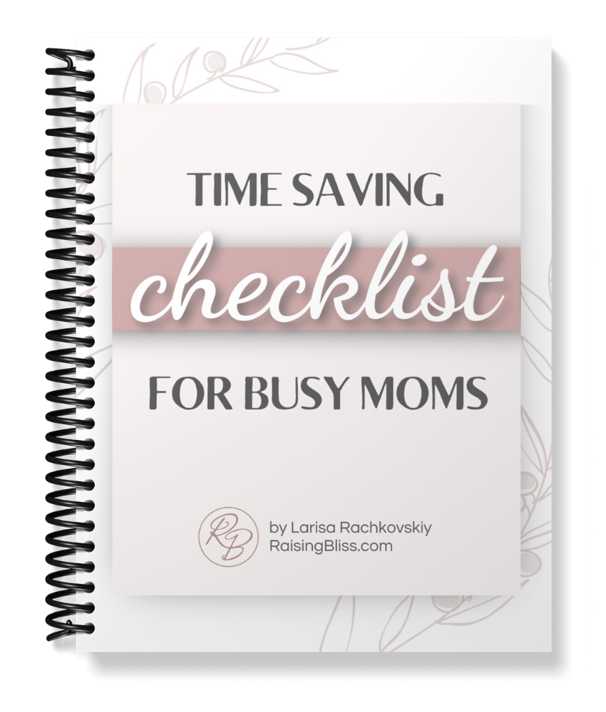 time saving checklist for busy moms